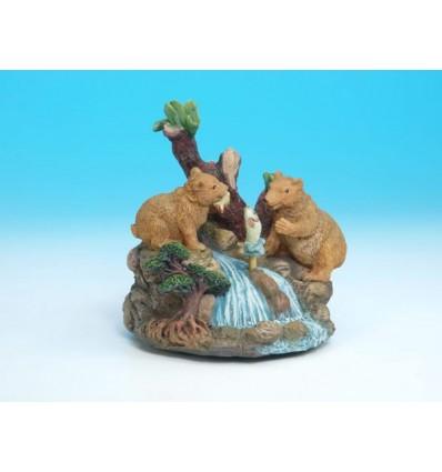 Ursos a pescar em Polystone