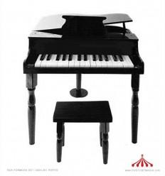 Big black piano