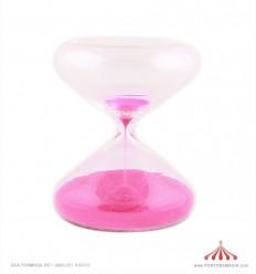 Ampulheta rosa