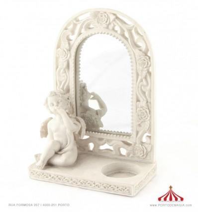 Anjo com espelho