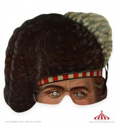 An Officer of the Black Watch - 25 Victorian Mask