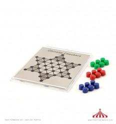 Jogo magnético damas chinesas 11x9