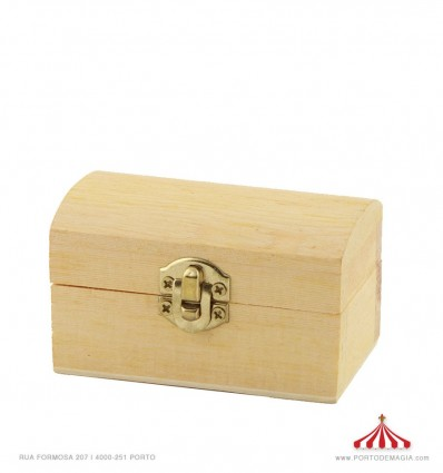 Caixa madeira 8x5cm