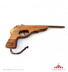 Pistola de madeira A+