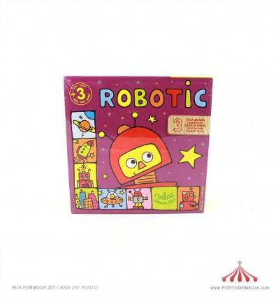 Robotic 3 jogos madeira