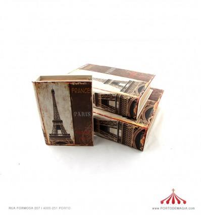 Caixa livro Paris grande