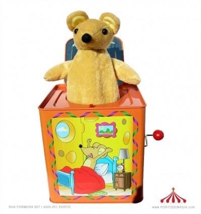 Rato amarelo Jack in a box