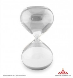 Ampulheta vidro 1 hora