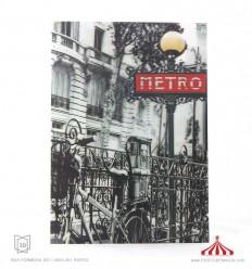 Quadro 3D Metro