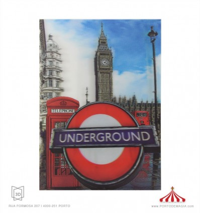 Quadro 3D Underground