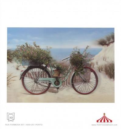 Quadro 3D bicicleta