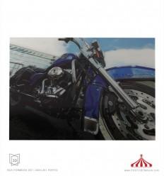 Quadro 3D Road King Harley Davison