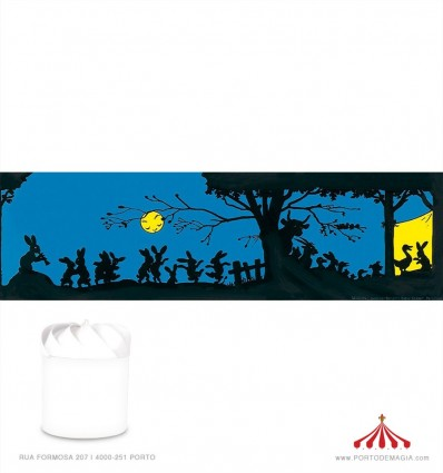 Cenário para lanterna Sombra Chinesa