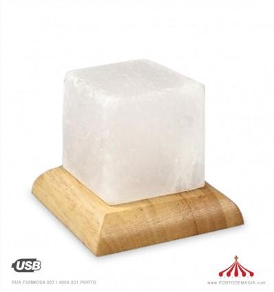 Pedra Sal Led quadrada