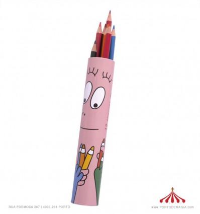 Lápis Cores Barbapapa