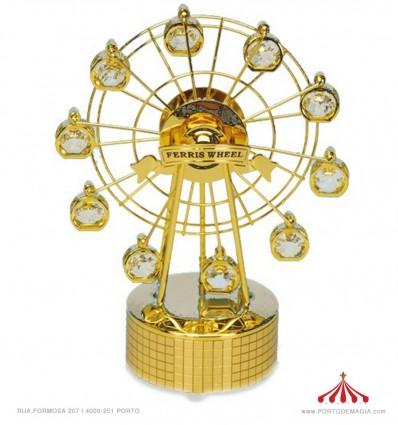 Roda Gigante com 10 cristais Austriêcos
