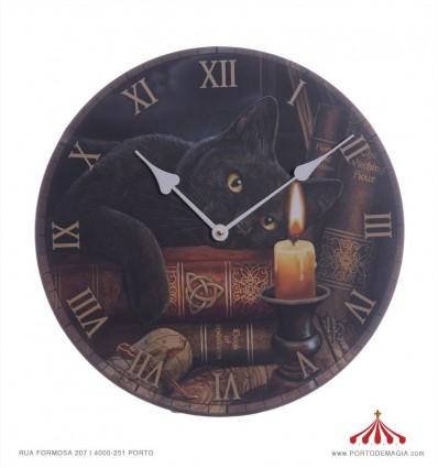 Relógio Gato das Bruxas de Lisa Parker