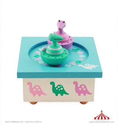 Caixa Dançante Dinossauro