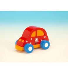 Automovel vermelho em madeira