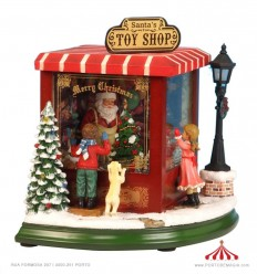 Pai Natal Toy Shop - pequena