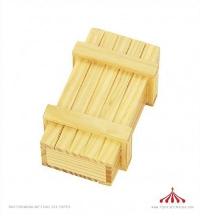 Caixa mágica segredo madeira