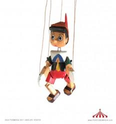 Marioneta Pinóquio 20cm