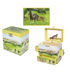 Caixa de Música - Cavalos