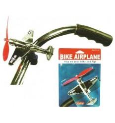 Avião hélice p/ bicicleta