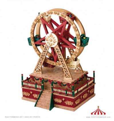 Mini Roda Gigante Mr Christmas
