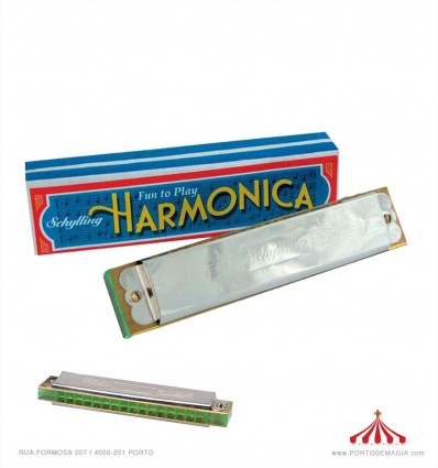 Kid's Harmonica from Schylling Toys