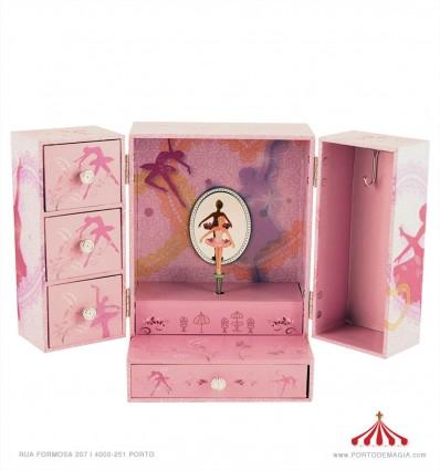 Armário para jóias bailarina