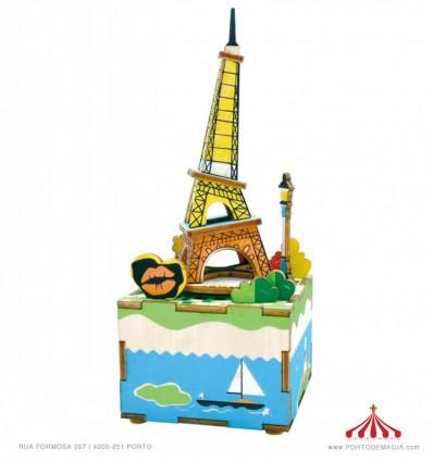 Romantic Eiffel 3D DIY Musical