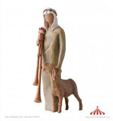 Zampognaro (Shepherd with bagpipe) - Willow Tree