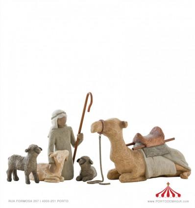 Pastor e Animais de Estábulo