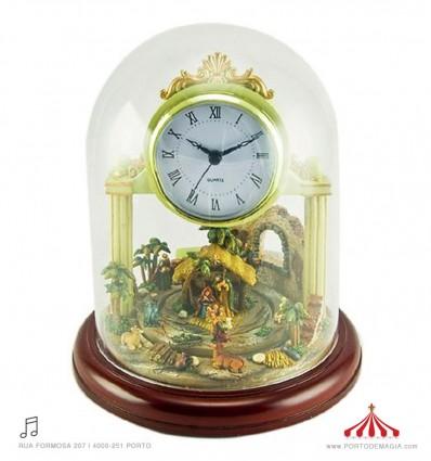 Relógio Presépio 8 melodias