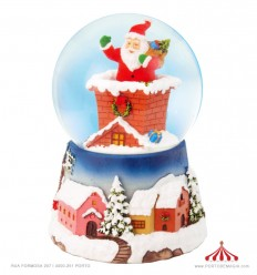 Bola de neve Santa Claus is coming to Town