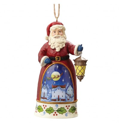 Mini Santa With Lantern