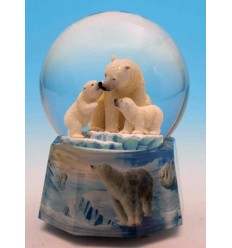 Bola de neve Ursos Polares