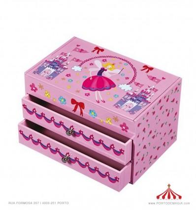 Caixa princesa fada
