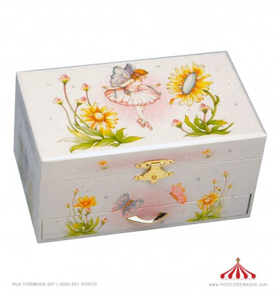 Caixa rectangular com fada