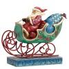 Enjoy The Ride (Winter Wonderland Santa in sleigh)