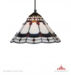 Tiffany Ambar - 30 - Candeeiro de tecto