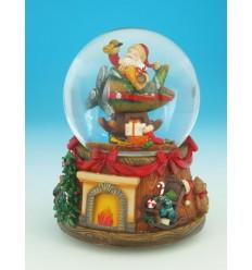 Bola de neve Pai Natal II
