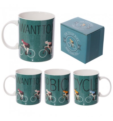 Caneca I Want To Ride My Bicycle