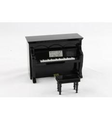 Piano com música