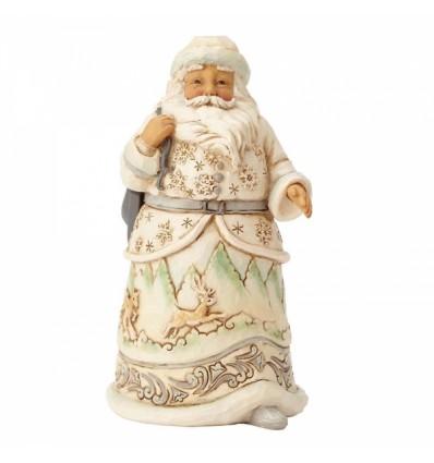 When The Ice Calls (White Woodland Santa)