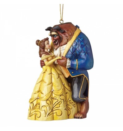 Beauty and The Beast Ornament