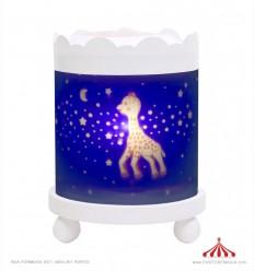Lanterna Redonda Sophie la girafe - Branca