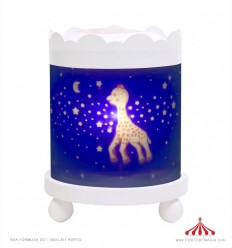 Round Lantern Sophie la girafe - White