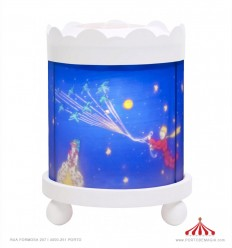 Round Lantern - The Little Prince - White